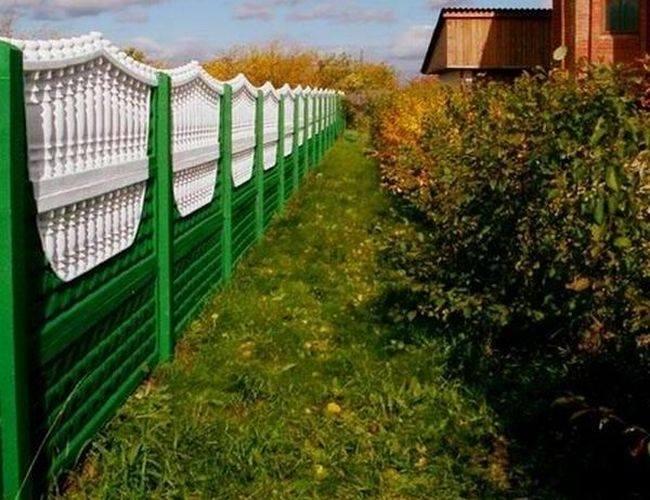 Gard din beton Olimpiada