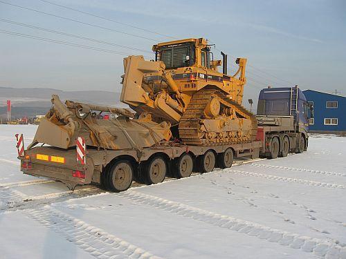 Transport agabaritic pentru proiecte majore de constructie mine