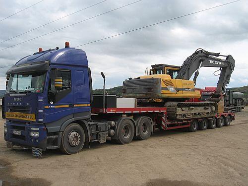 Shnell Transport este specializata in transportul de marfuri agabaritice