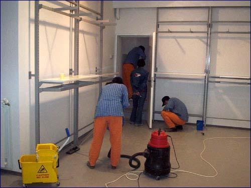 Servicii de curatenie dupa constructor