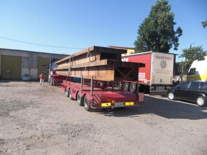 Transport materiale santier