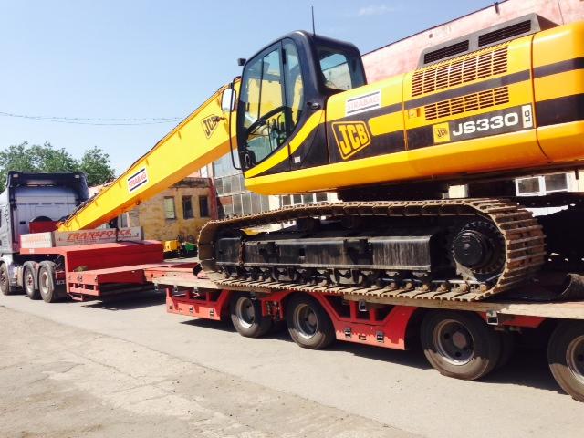 Transport utilaje constructii