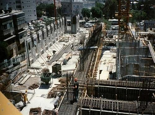 Constructie cladire administrativa Israel