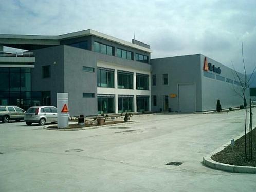 Constructie depozit si birouri Sika Romania