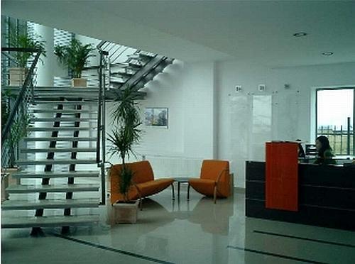 Interior cladire Sika