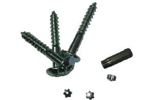 Suruburi autoforante pentru tamplarie PVC