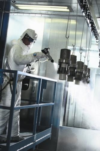 Pulverizare vopsirea - utilizare industriala