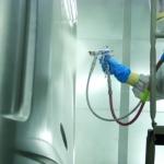 Finisaj in plastic - pulverizare
