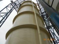 Aplicare polimeri ceramici - rezervor acid clorhidric