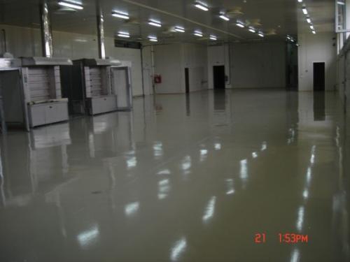 Pardoseli industriale interioare Fabrica de produse de panificații, Săcele