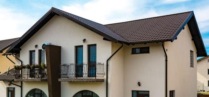Design inedit cu sistemul pentru acoperis Metigla
