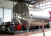 Gudronator - dispersator de emulsie bituminoasa