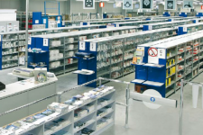 Sistem rafturi magazin