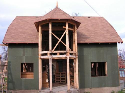 Casa pe structura de lemn Brasov