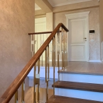 Balustradă și scări lemn