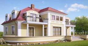 Profile decorative de exterior