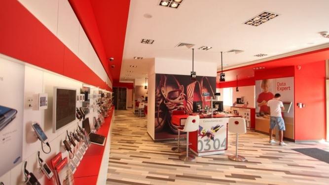 Redesign retea magazine Vodafone