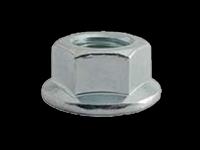 Piuliţă hexagonală cu flanşă autoblocabilă DIN 6923