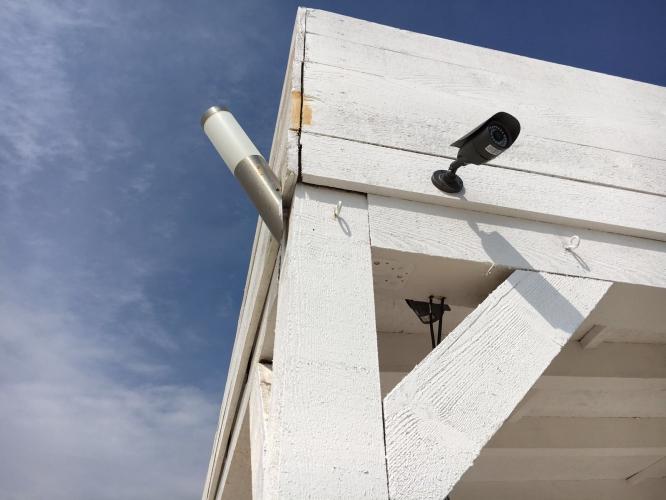 Montaj sistem de supraveghere