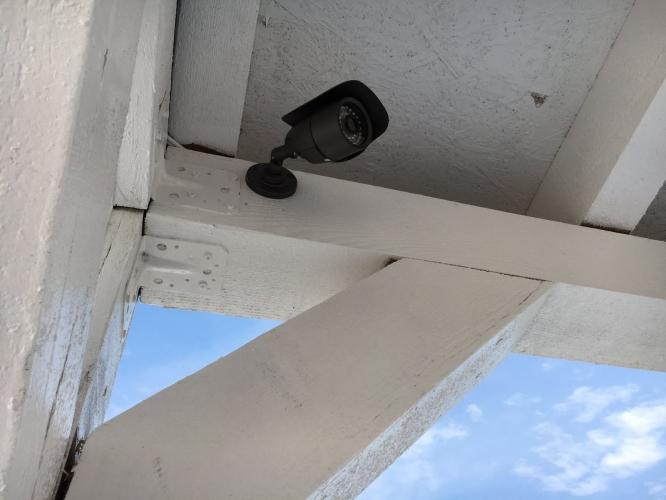 Sistem de supraveghere spațiu public