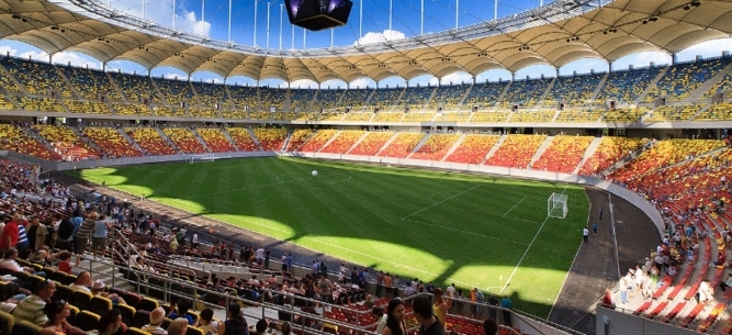 Lucrari Stadionul National Bucuresti