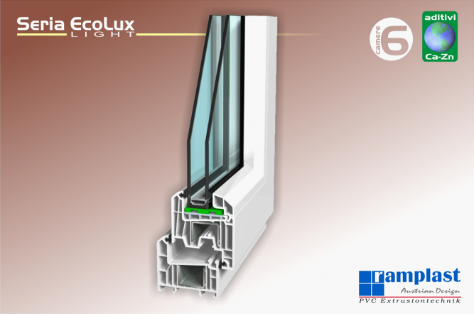 Profile PVC EcoThermLight