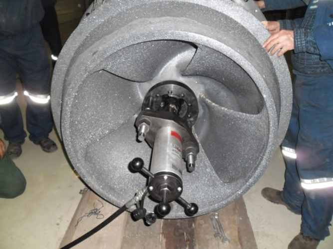 Rotor de ceramică pentru apă cu proprietăți corozive