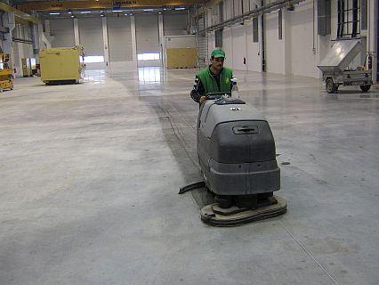 Curățenie după instructor