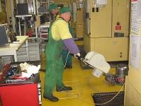 Curățenie industrială