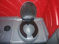 Interior toaleta ecologica