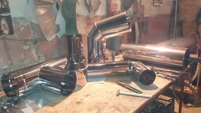 Productie tubulatura ventilatie metalica