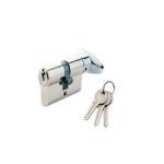 Cilindri cu buton si chei din alamă (Europrofil)