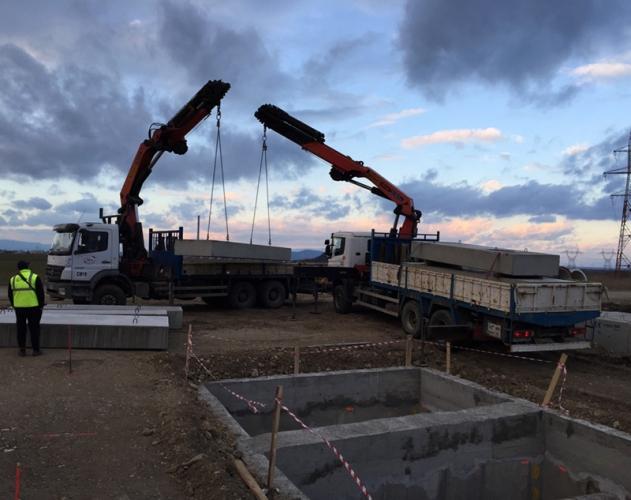 Transport blocuri pentru constructii