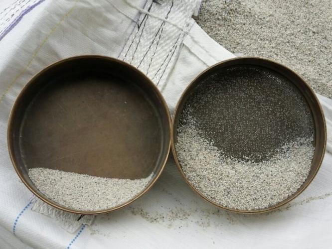 Prelucrare nisipuri si pietrisuri cuartoase