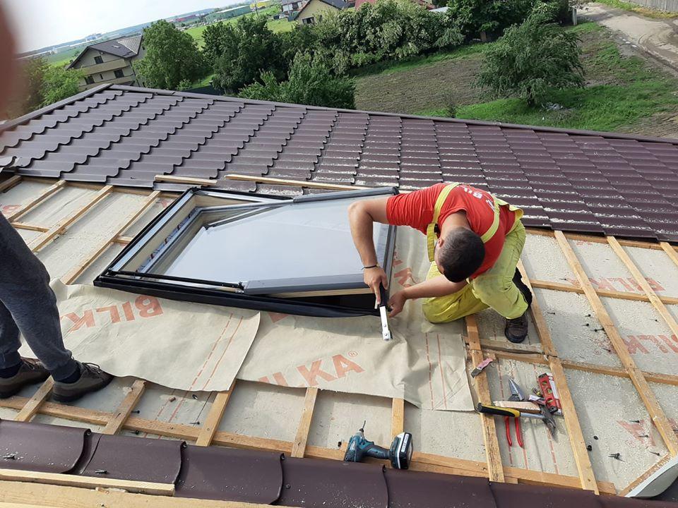 Tablă metalică petru acoperiș