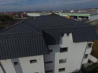 Învelitori metalice blocuri rezidențiale