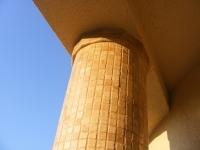 Placări stâlpi - mozaic