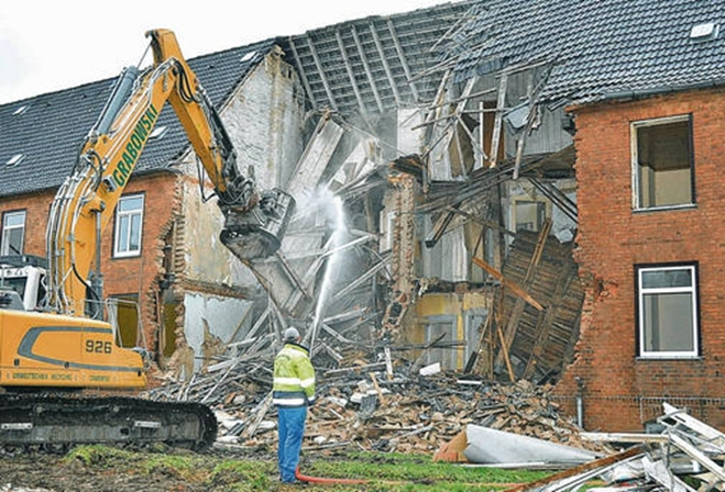 Lucrări demolări construcții civile