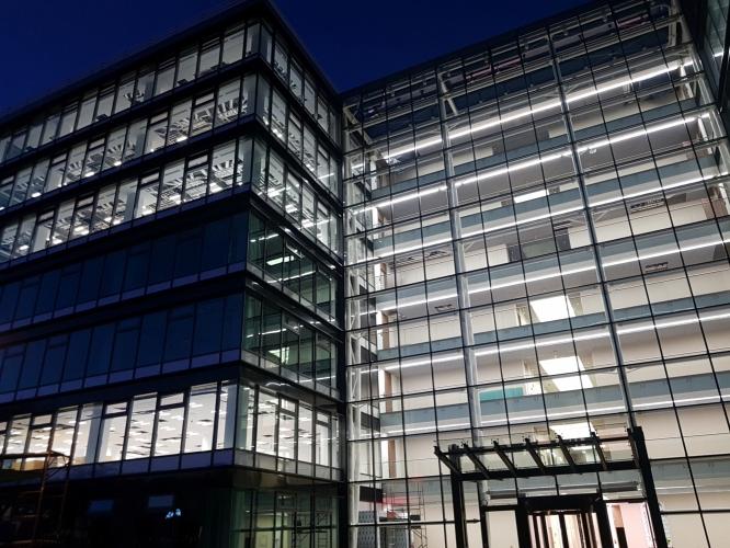 Instalatii electrice - cladire de birouri