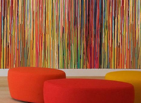 Amenajare pereti tapete cu modele digitale abstracte for Interesting wallpaper for walls