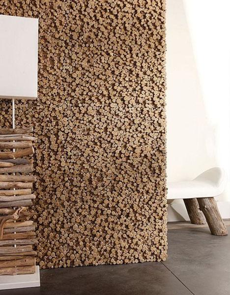 Стены из деревам своими руками